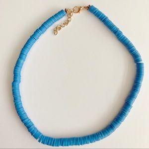 Surfer Blue Choker Necklace